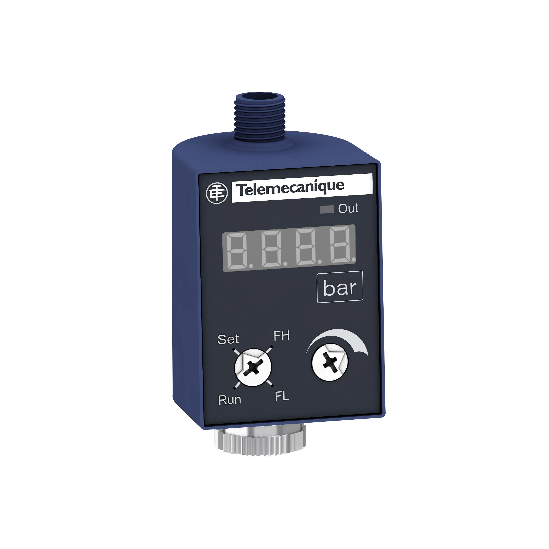 Schneider Anzeige+Schalter ZMLP, 24 VDC, 4-20mA, PNP, Fenster, M12 ZMLPA1P2SW