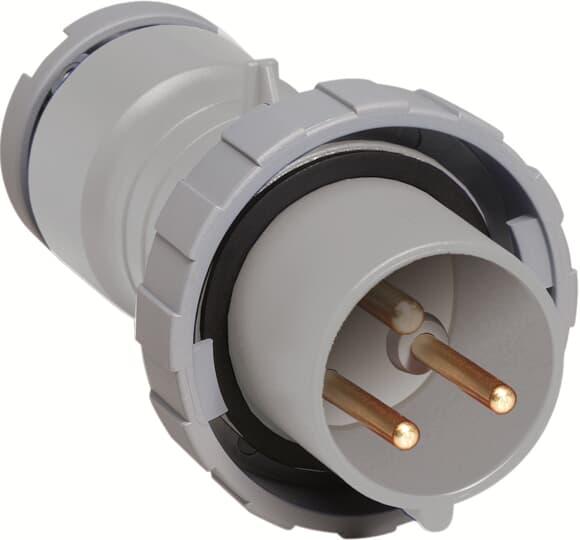 ABB 216P1W CEE-Stecker 1h, 16 A, IP67, 2P+E 2CMA166466R1000