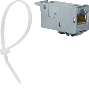 Hager RJ45 Modul (E-Dat),universal,10GBit,180° VZ314RJ