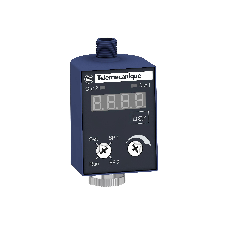 Schneider Anzeige+Schalter ZMLP, 24 VDC, 2 PNP, Hysterese, M12 ZMLPA2P0SH