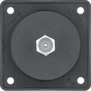 Berker Antennen Verbinderdose TV ITG schwarz 945812503