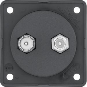 Berker Antennen Verbinderdose TV/SAT Integro s 845632503