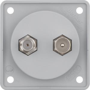Berker Antennen Verbinderdose TV/SAT Integro gr 845632506