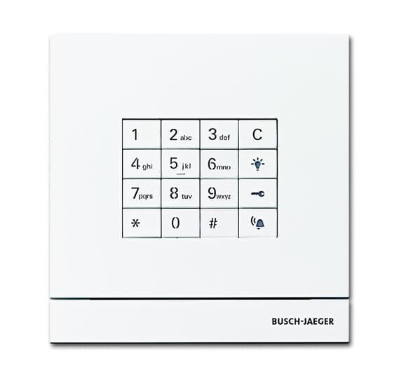 Busch Jäger Außenstation mit Tastatur-Modul  2CKA008300A0416