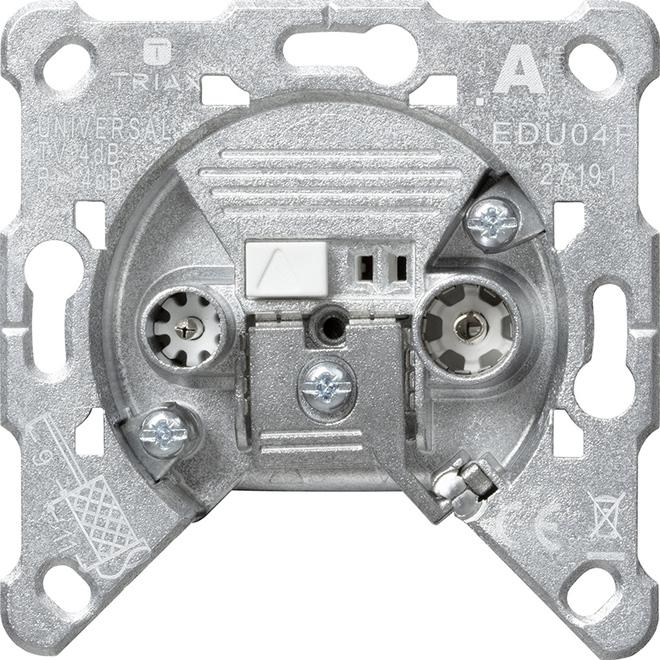Gira Antennensteckd. EDU 04 F Einsatz 004600