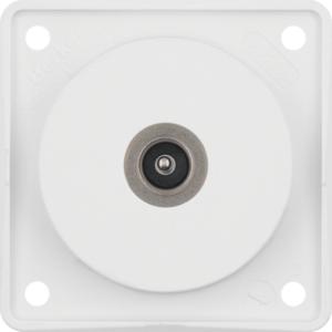 Berker Antennen Verbinderdose TV ITG Eins pw 945112512