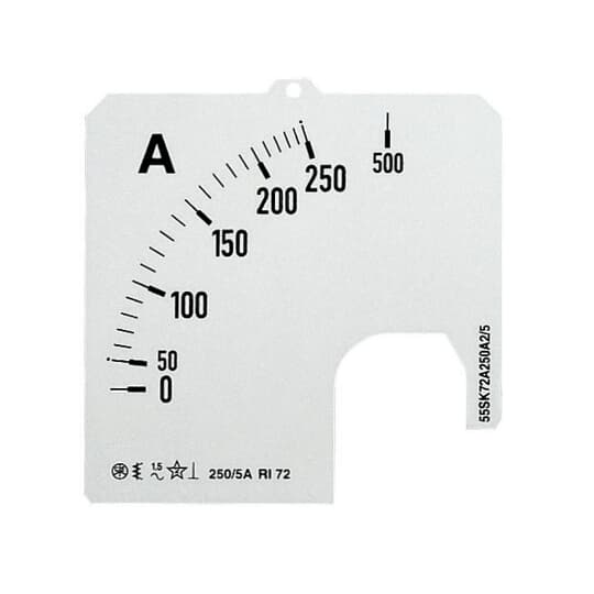 ABB Amperemeter Skale SCL-A1-5/96 Stromwandleranschluss 5/5A 2CSG113021R5011