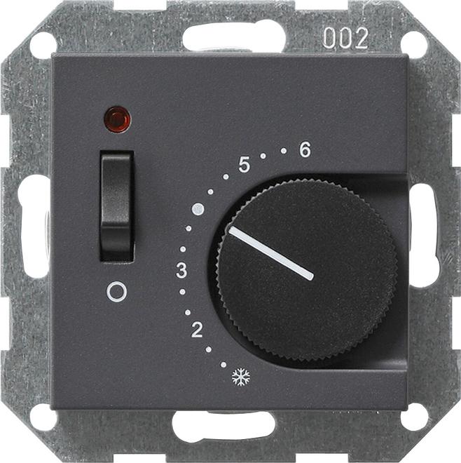 Gira RTR 230/10 (4) A Öffner Aus + Kontroll System 55 Anthrazit 039228