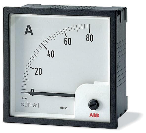 ABB Amperemeter AMT1-A1-25/96 Schaltschranktürmontage 2CSG313070R4001