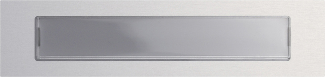 Gira Ruftaste BSF System 106 Aluminium 5547926
