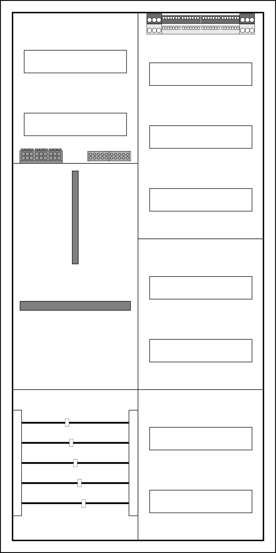 f-tronic Komplettschrank ZE106-3 7120654
