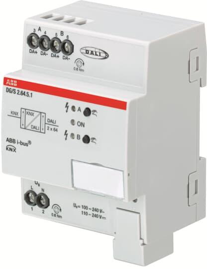 ABB DG/S2.64.5.1 DALI-Gateway, Premium, 2fach, REG 2CDG110274R0011