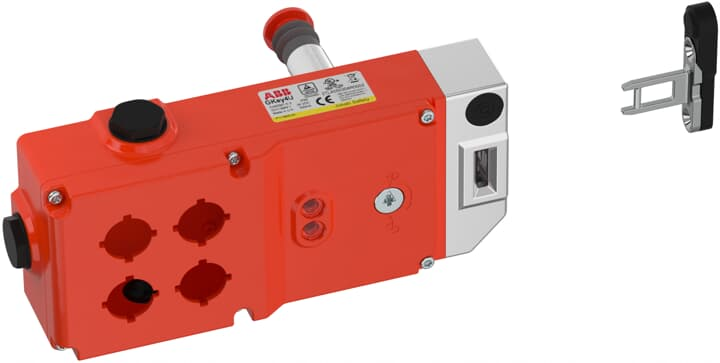 ABB GKEY4 RU Sicherheitszuhaltung 4 Einbauöffnungen, Aluminiumdruckguss, 2TLA050304R0002