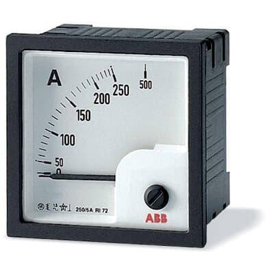 ABB Amperemeter AMT1-A1-15/72 Schaltschranktürmontage 2CSG312050R4001