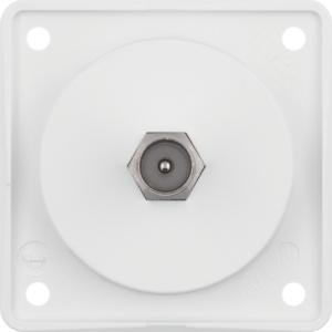 Berker Antennen Verbinderdose TV ITG polarweiß 945812502