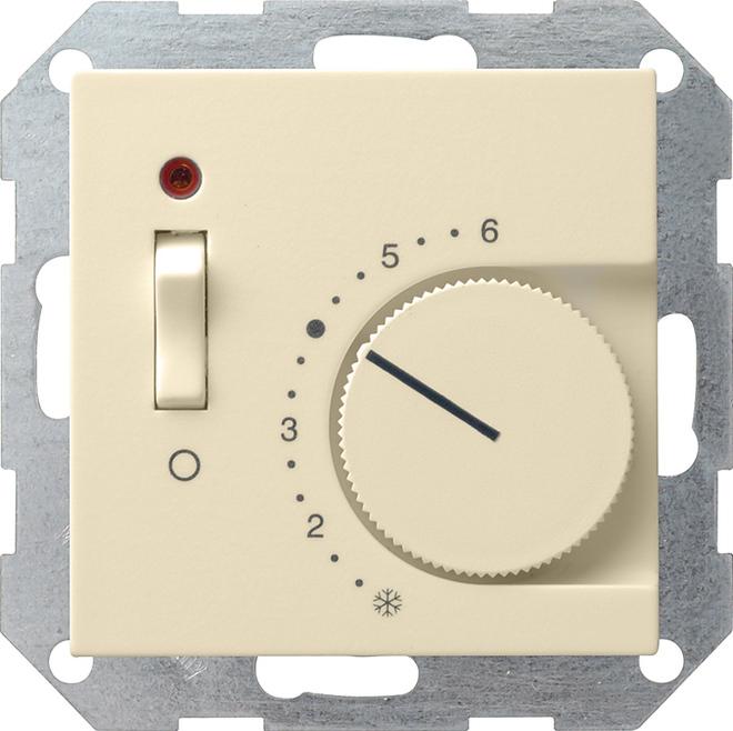 Gira RTR 230/10 (4) A Öffner Aus + Kontroll System 55 Cremeweiß 039201