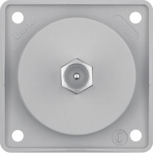 Berker Antennen Verbinderdose TV ITG grau matt 945812506
